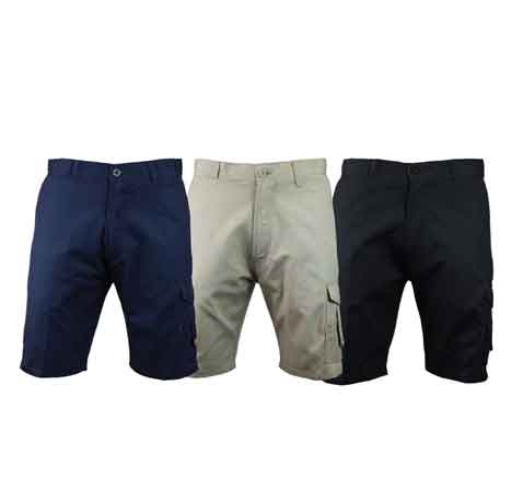 Cotton-Canvas-Cargo-Work-Shorts-With-DTM-CODURA-Trims-1