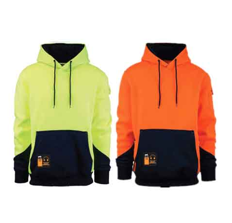 POLYESTER-FLEECE-Hooded-Fleece-Top-main