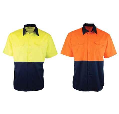 Two-Tone-Short-Sleeve-Drill-Shirt-main